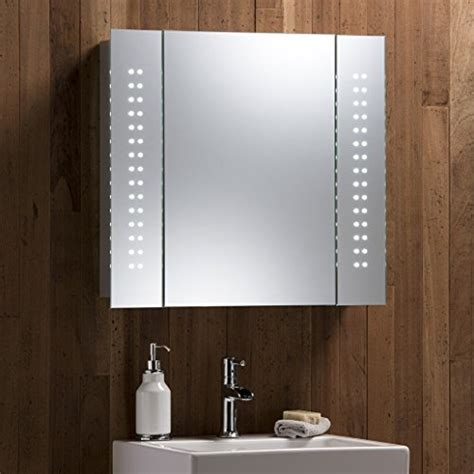 bathroom mirror with led lights and shaver socket illuminated bathroom cabinets mirrors shaver socket uk review