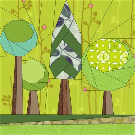 Quilting Supplies Pretoria by Trees 2 By Janeenvn Quilting Pattern