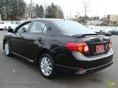 black sand for sale 2010 toyota corolla s in black sand pearl photo 6