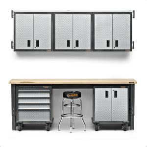 Premier Garage Cabinets by Gladiator Garage Cabinets And Workbench