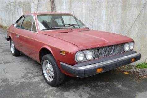 lancia beta coupe for sale usa fwd 1976 lancia beta coupe