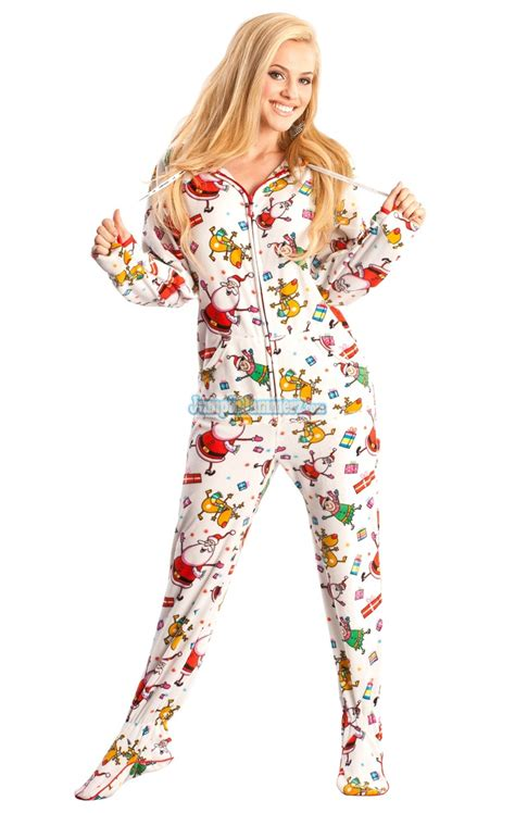 onesie pajamas santa baby hooded footed pajamas pajamas footie pjs onesies one