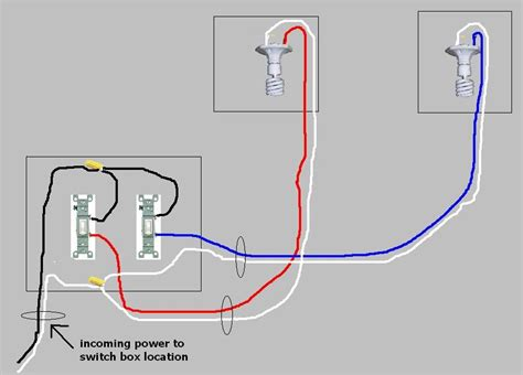 light switch wiring diagram two lights light fan wiring