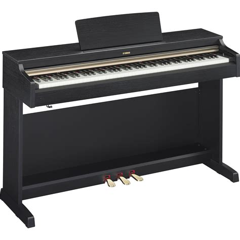 yamaha arius ydp 142 88 key digital piano with bench yamaha ydp 162 arius 88 key digital piano black walnut