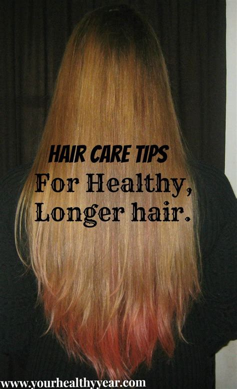 Hair Care Tips by Twelve Hair Care Tips For Keeping Your Healthy And