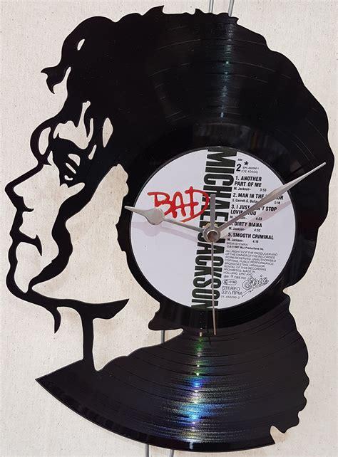 michael jackson bad vinyl original michael jackson vinyl cut clock shop triptide