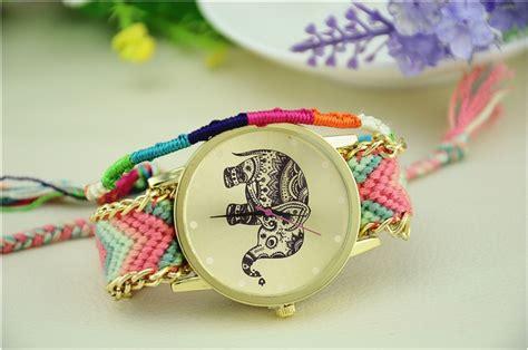 Jam Tangan Wanita Four Rows Pink Pearl Flower Yw1025pk jam tangan yang sedang trend jam simbok