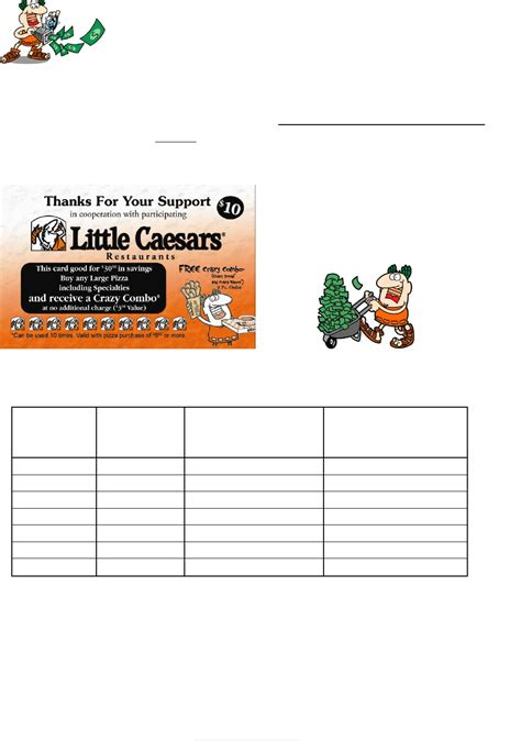 fundraising cards templates caesars fundraising card template for free