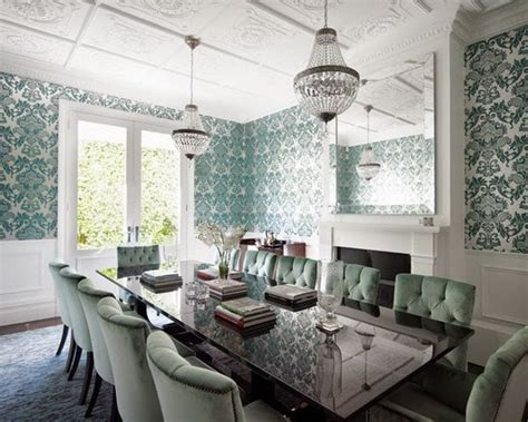 wallpaper dinding ruang makan spectacular dining room wallpapers that you would want to copy
