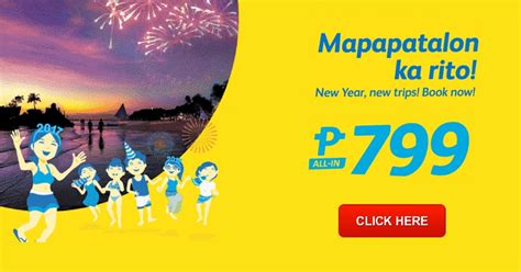 new year airline promo cebu pacific new year promo 2017