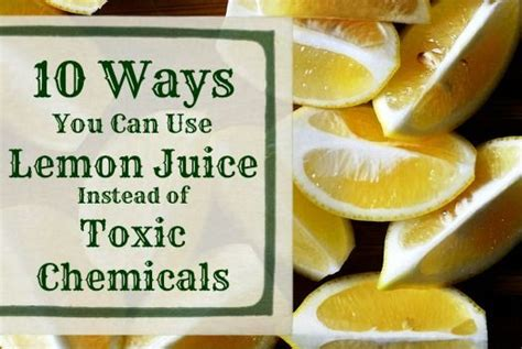 Can I Use Lime Instead Of Lemon For Detox 10 ways you can use lemon juice instead of toxic chemicals