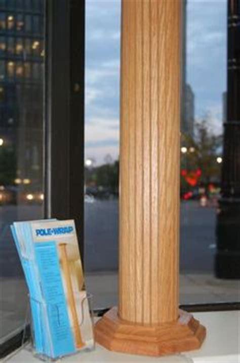 lally column cover ideas pole wrap photo galleries