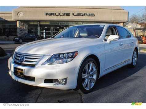 2012 starfire white pearl lexus ls 600h l awd hybrid