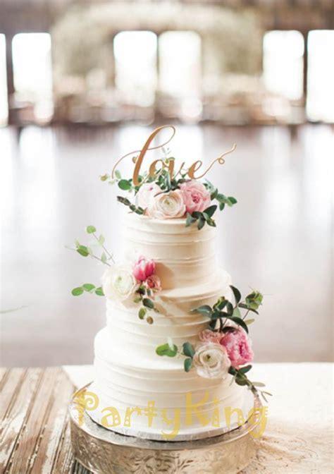 "personalized wedding cake topper' LOVE"" Bing Gold Wedding"