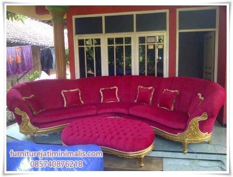 Kursi Tamu Sudut Minimalis Furniture Kursi Dipan Bufet Lemari contoh produksi furniture jepara mebel jepara jati