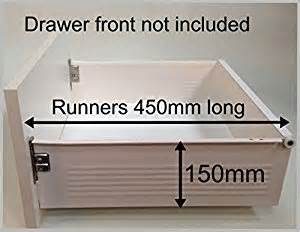 replacement kitchen drawer box complete kit