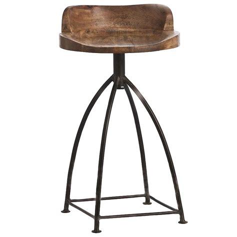 wood swivel counter stools missoula industrial loft antique wood iron swivel counter