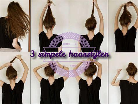 Mooie Haarstijlen by 3 Simpele Haarstijlen Verschillende Soorten Vlecht