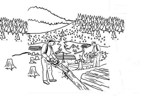 distintos usos del agua colouring pages dibujo para colorear deforestaci 243 n img 14380