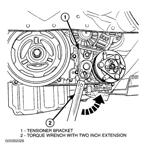 2004 chrysler sebring timing belt 2004 chrysler sebring serpentine belt routing and timing