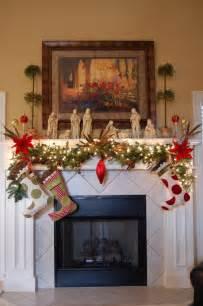 Mantel Decorating Ideas For Christmas Ideas Adorable Christmas Mantel Decorating Ideas For The
