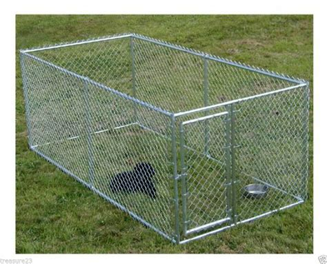 chain link pens large chain link 4 x10 x5 kennel pet pen fence outdoor new free