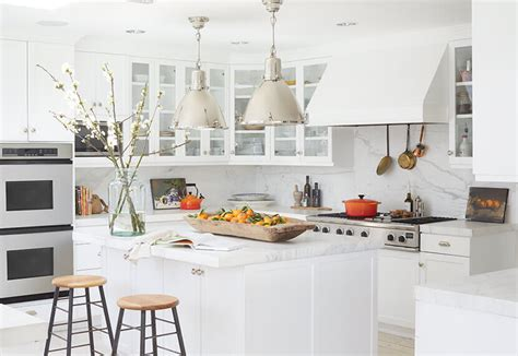 Adding Color To A White Kitchen by How To Add Personality To A White Kitchen Emily Henderson