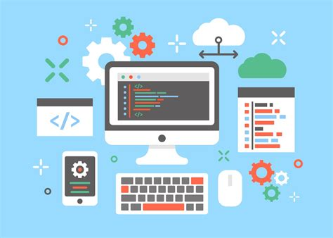 visitor pattern software engineering engenheiros de software conceito vetor de design