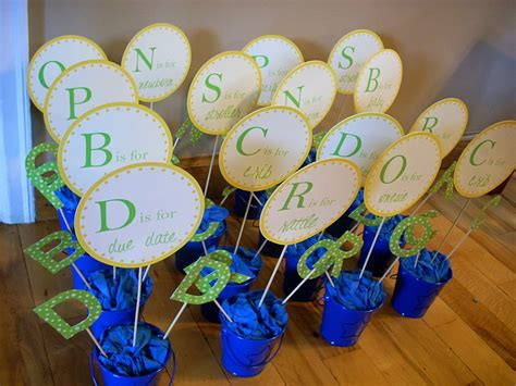 Baby Shower Diy Centerpieces alphabet baby shower diy centerpieces the domestic domicile