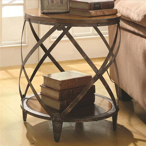 metal drum accent table accent cabinets contemporary metal accent table with drum