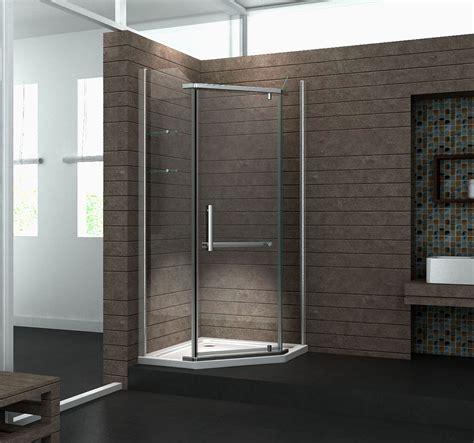 duschkabine mit duschtasse f 252 nfeck duschkabine pentagono 90 x 90 x 200 cm inkl