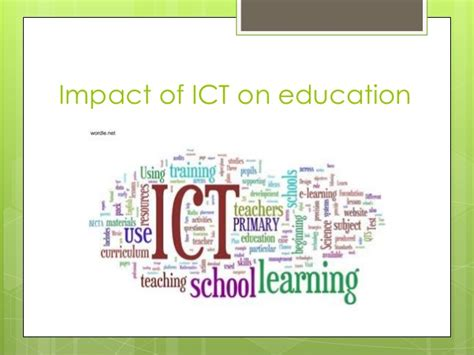 affect of modern technology on training technology impact of ict on education maaz and shaizaan