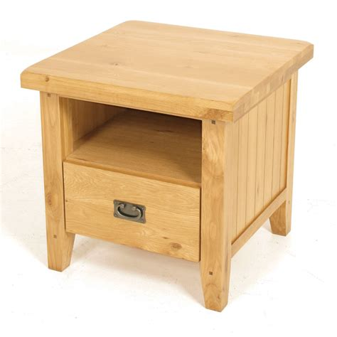 Oak End Table by Rustic Oak End Table Tom S Furniture Stores Ireland