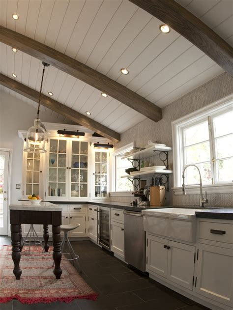 tongue  groove ceiling plank houzz