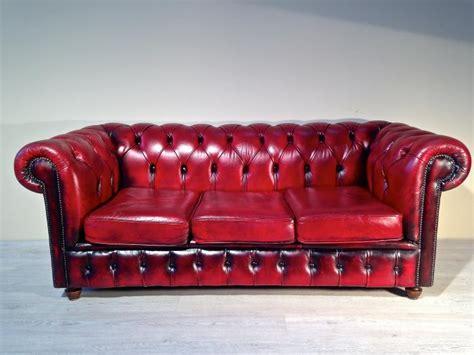 divani in inglese divano chesterfield originale inglese in pelle divani