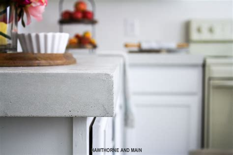 Z Concrete Countertops by The Suite Pecan Diy Kitchen Countertops Hawthorne And