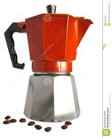 Machine A Café A Grain 463 by Geyser Coffee Maker Stock Photo Image Of Gourmet Modern