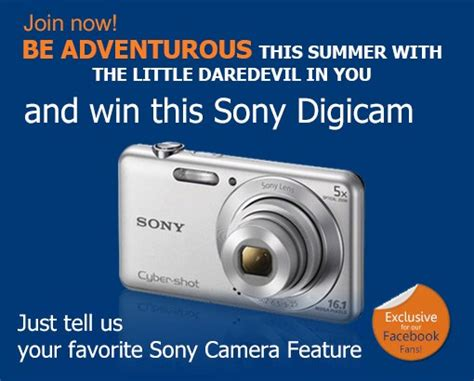 Appliance Giveaway - sm appliance center win a sony cybershot digicam philippine contests and promos