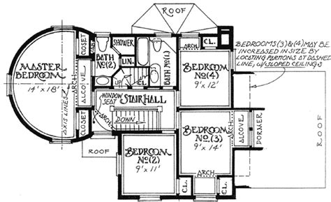 tudor house floor plans turreted tudor cottage 11605gc architectural designs house plans