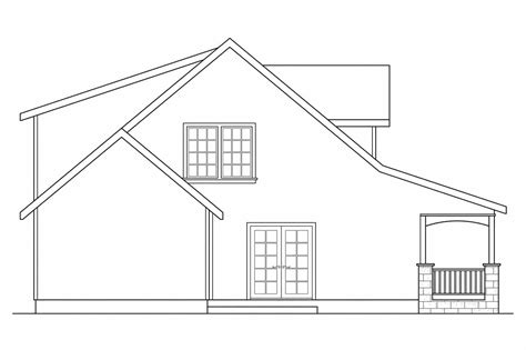 how to draw a plan of a house house line plan drawing