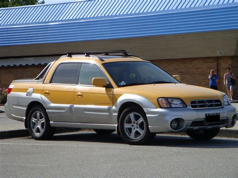 subaru truck subaru baja all wheel drive truck a photo on