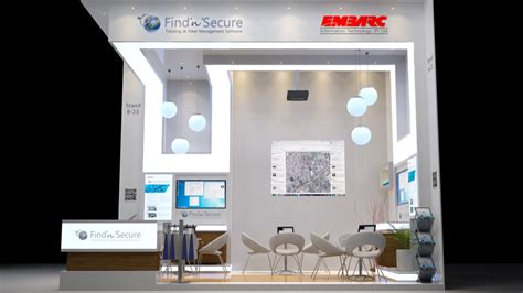 booth design build ltd custom exhibition stand for embarc information technology