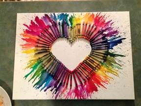 Craft Projects Crayon Art Arts And Crafts Project Favorite Crafts