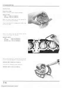 1984 1986 honda cb700sc nighthawk motorcycle service manual 800 426 4214 ebay