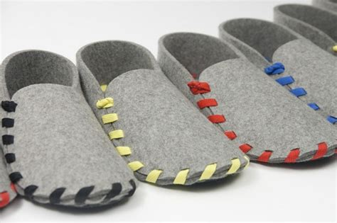 lasso slippers pattern designer creates minimalistic diy shoes held together by a