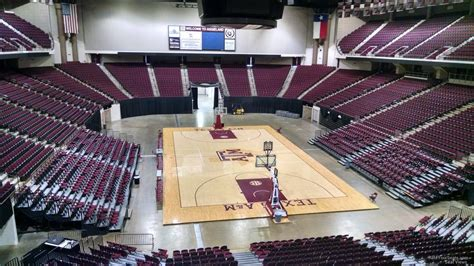 Section 214 B by Reed Arena Section 214 Rateyourseats
