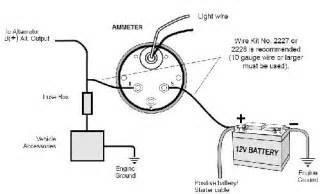 gm amp gauge wiring gm free engine image for user manual