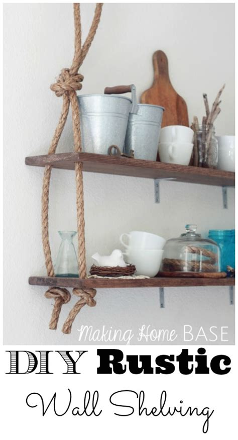 diy wall shelves interior design ideas