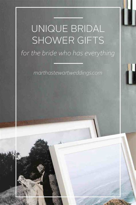 unique bridal shower gifts for bride who has