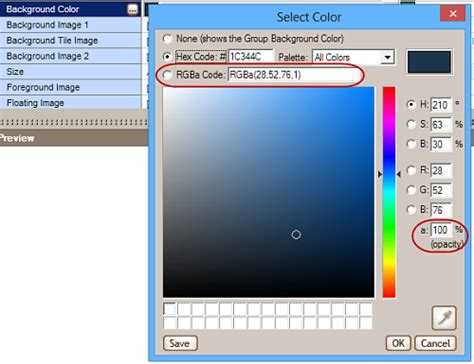 background color opacity what s new allwebmenus css menu javascript menu builder